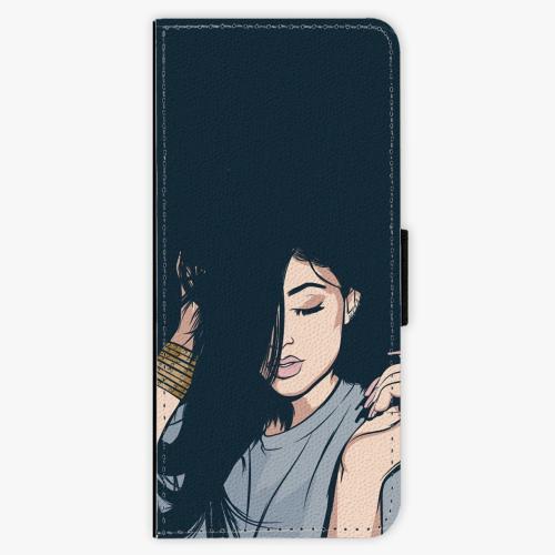 Flipové pouzdro iSaprio - Swag Girl - Samsung Galaxy J3 2016