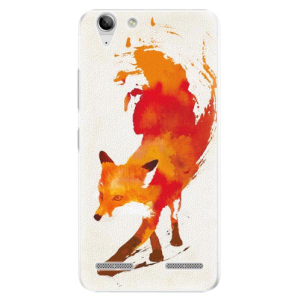 Plastové pouzdro iSaprio - Fast Fox - Lenovo Vibe K5