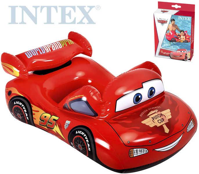 INTEX Člun 109x60cm auto nafukovací do vody CARS (Auta)