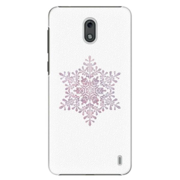 Plastové pouzdro iSaprio - Snow Flake - Nokia 2