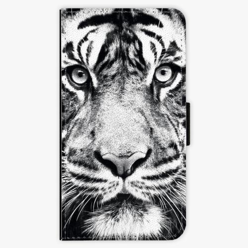Flipové pouzdro iSaprio - Tiger Face - Samsung Galaxy J1 2016