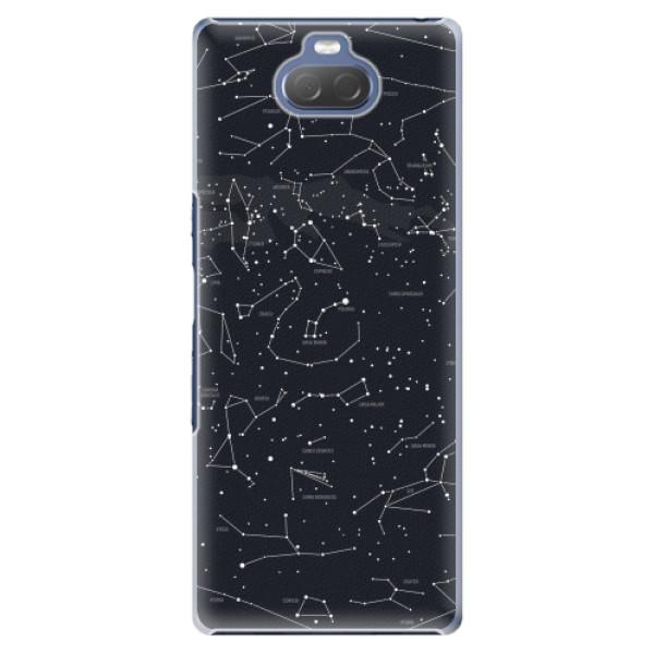 Plastové pouzdro iSaprio - Night Sky 01 - Sony Xperia 10 Plus