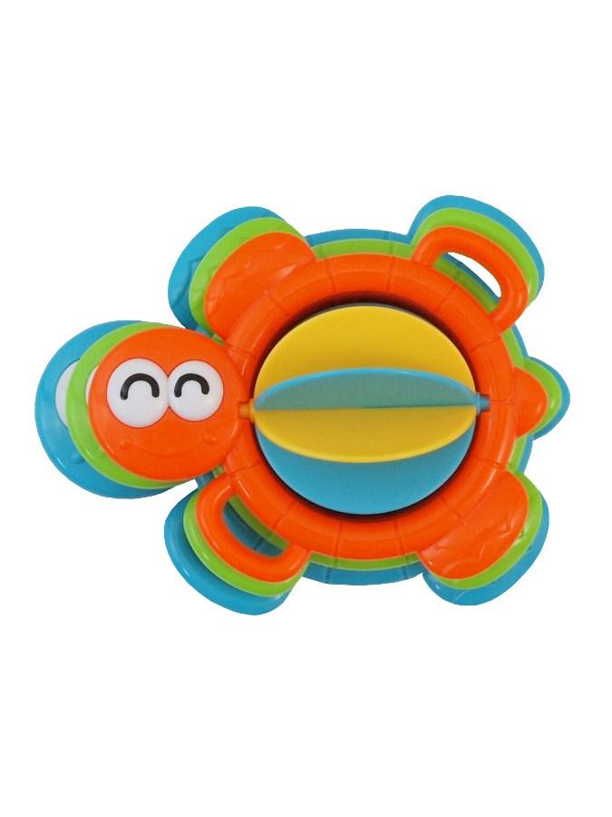Edukační hračka do koupele Baby Mix želvička - oranžová
