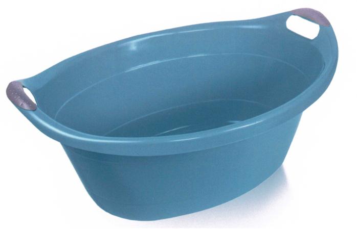 Oválná mísa/lavor 14l - modrošedá