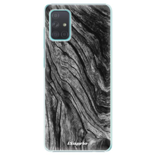 Plastové pouzdro iSaprio - Burned Wood - Samsung Galaxy A71