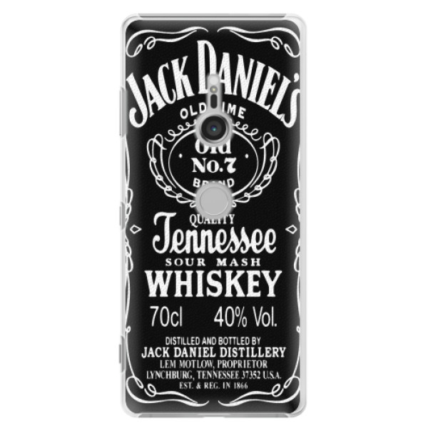 Plastové pouzdro iSaprio - Jack Daniels - Sony Xperia XZ3
