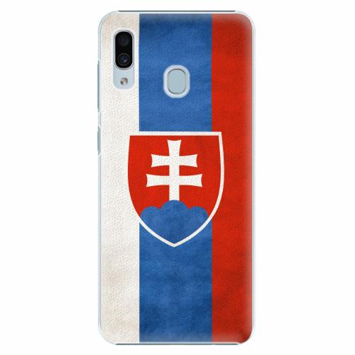 Plastový kryt iSaprio - Slovakia Flag - Samsung Galaxy A30