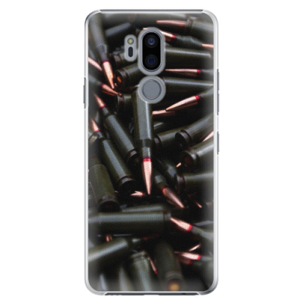 Plastové pouzdro iSaprio - Black Bullet - LG G7