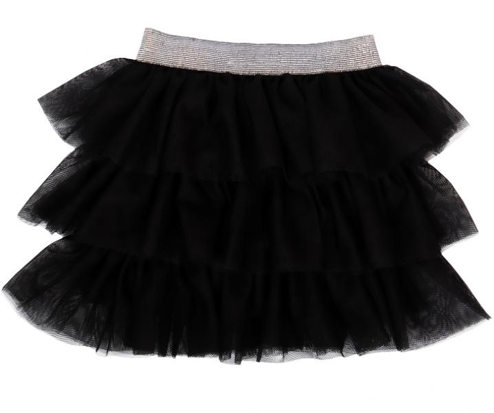 mamatti-kojenecka-tylova-sukne-princezna-puntik-cerna-s-sedym-pasem-104-110