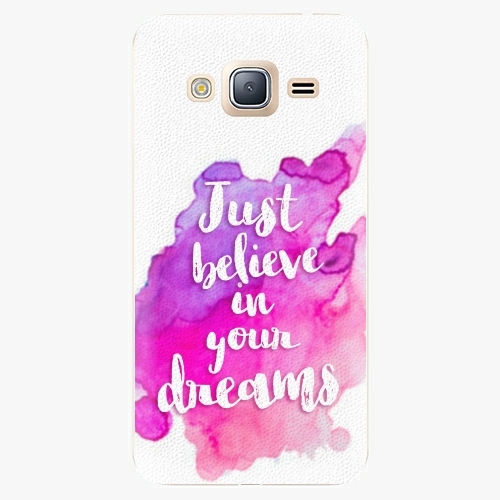 Plastový kryt iSaprio - Believe - Samsung Galaxy J3