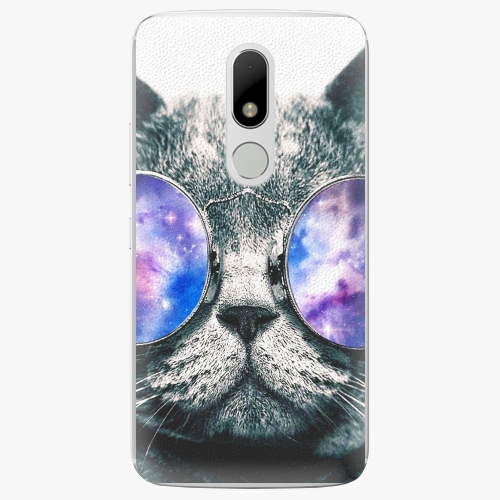 Plastový kryt iSaprio - Galaxy Cat - Lenovo Moto M