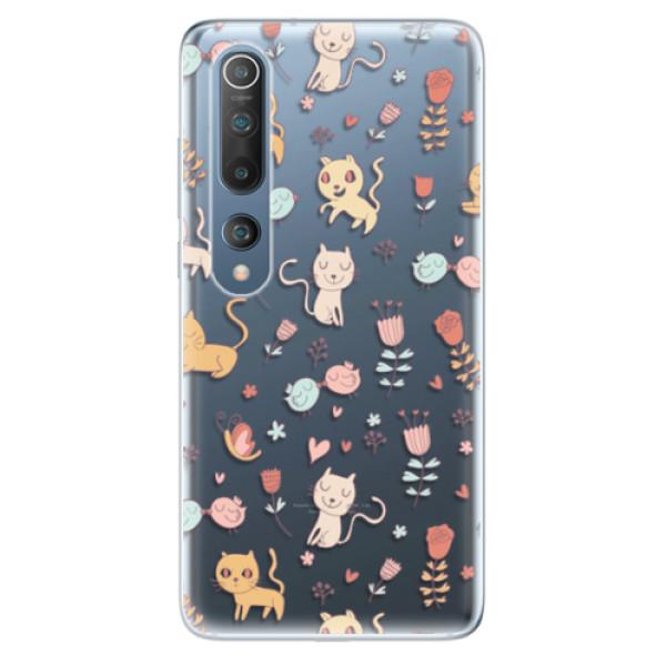 Odolné silikonové pouzdro iSaprio - Cat pattern 02 - Xiaomi Mi 10 / Mi 10 Pro