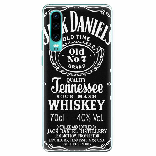 Plastový kryt iSaprio - Jack Daniels - Huawei P30
