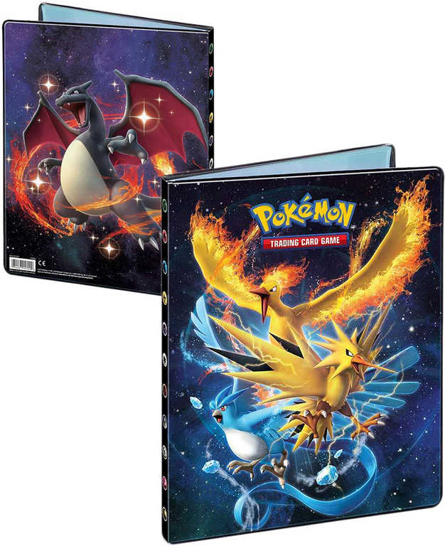 ADC Pokémon HIDDEN FATES Album sběratelské A4 na 180 karet