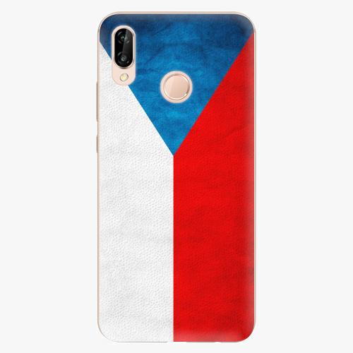 Plastový kryt iSaprio - Czech Flag - Huawei P20 Lite
