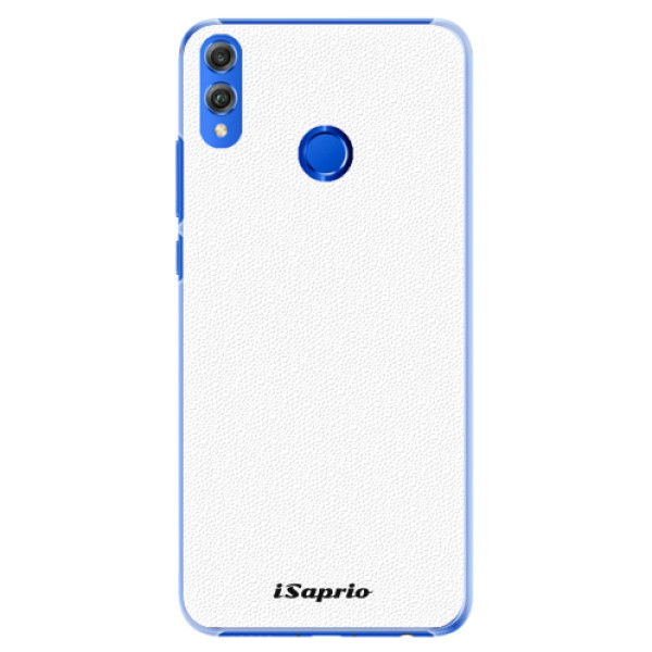 Plastové pouzdro iSaprio - 4Pure - bílý - Huawei Honor 8X