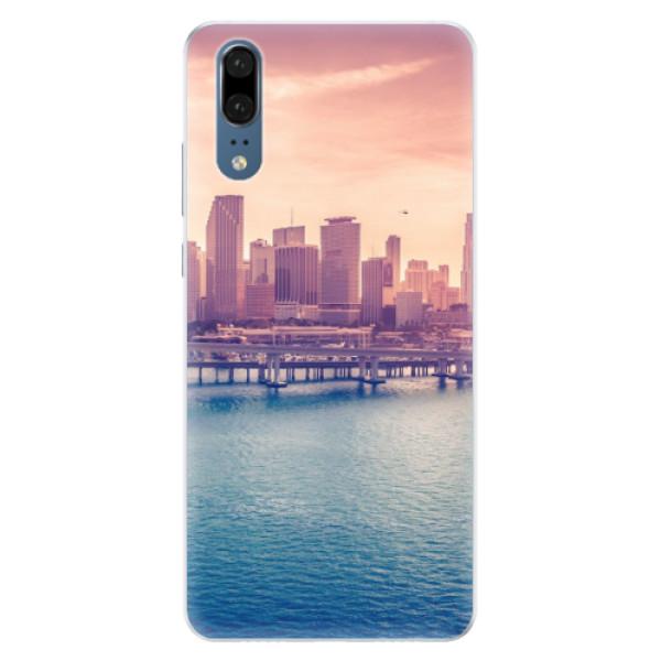 Silikonové pouzdro iSaprio - Morning in a City - Huawei P20