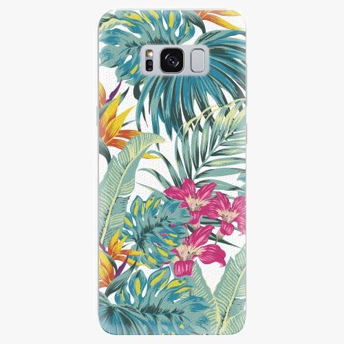 Plastový kryt iSaprio - Tropical White 03 - Samsung Galaxy S8 Plus