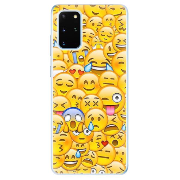 Odolné silikonové pouzdro iSaprio - Emoji - Samsung Galaxy S20+