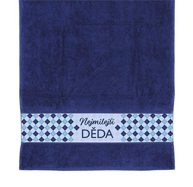 Dárkové ručníky - Ručník - Nejmilejší děda