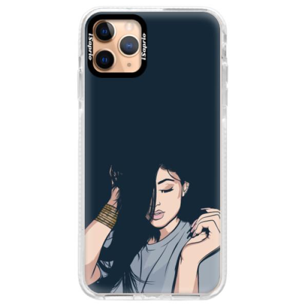 Silikonové pouzdro Bumper iSaprio - Swag Girl - iPhone 11 Pro Max