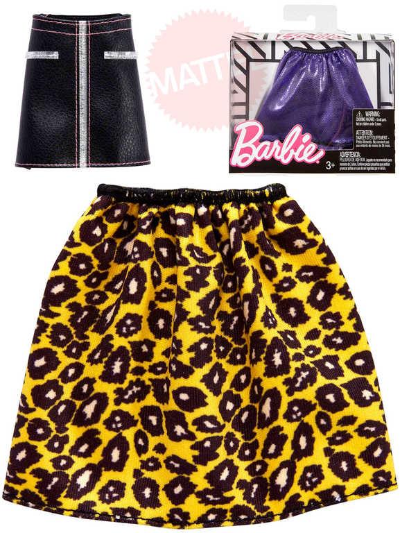 MATTEL BRB Sukně / kalhoty obleček pro panenku Barbie různé druhy
