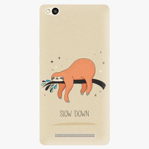 Plastový kryt iSaprio - Slow Down - Xiaomi Redmi 3