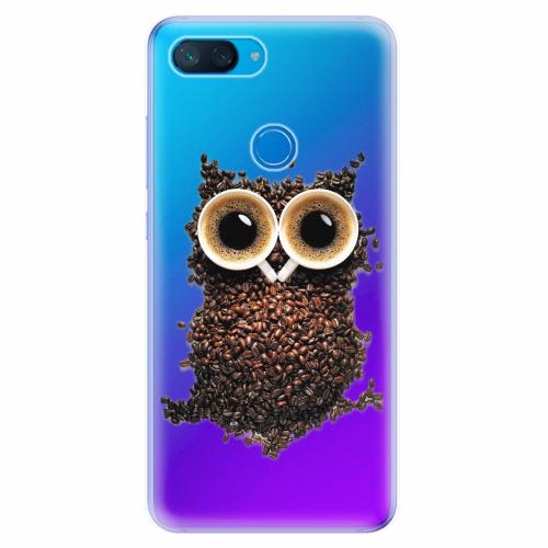 Silikonové pouzdro iSaprio - Owl And Coffee - Xiaomi Mi 8 Lite