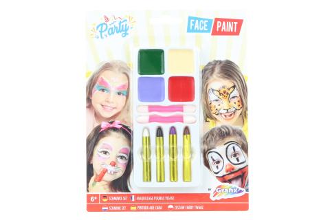 Barvy na obličej