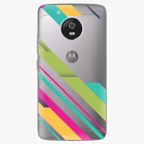 Plastový kryt iSaprio - Color Stripes 03 - Lenovo Moto G5