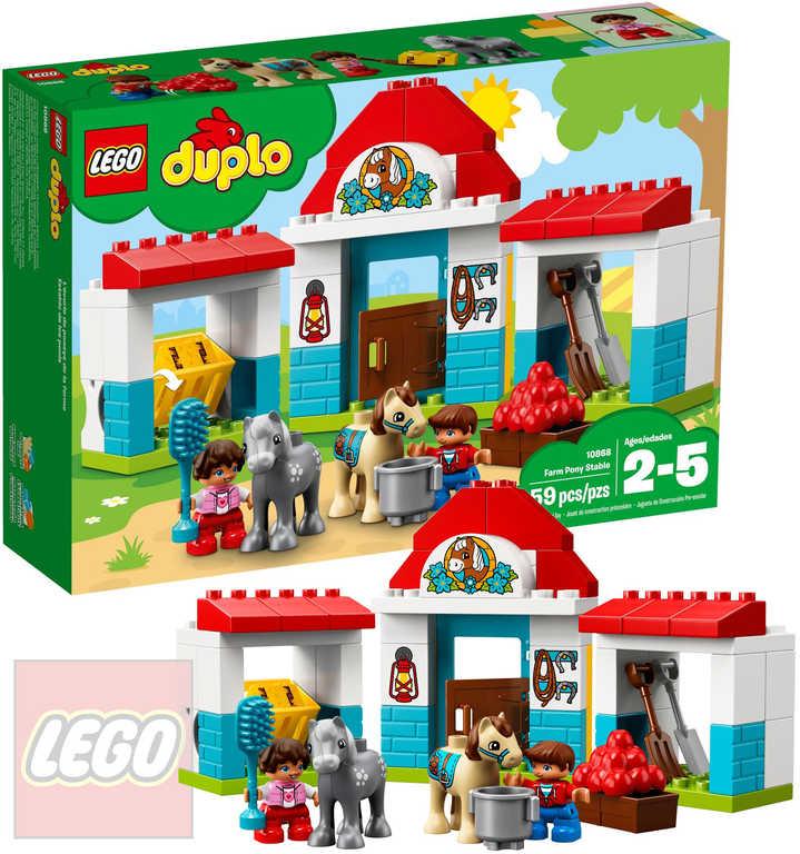 LEGO DUPLO Stáje pro poníka 10868