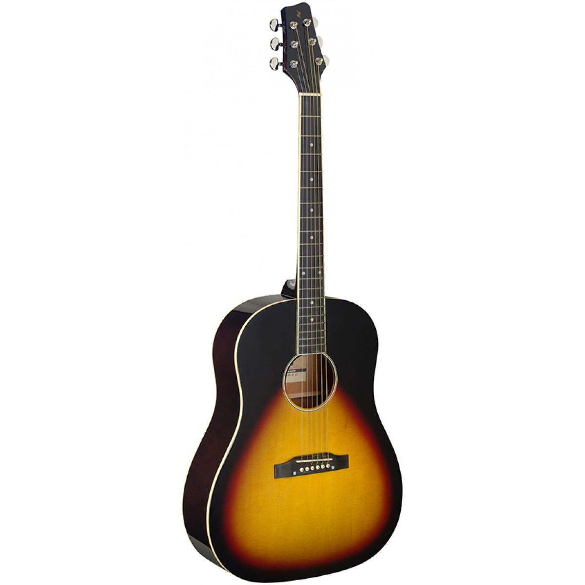 Stagg SA35 DS-VS LH, akustická kytara levoruká