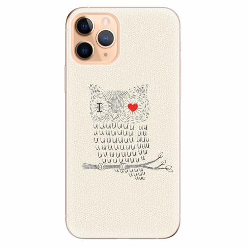 Silikonové pouzdro iSaprio - I Love You 01 - iPhone 11 Pro