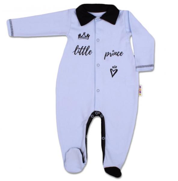 Baby Nellys Bavlněný overálek Little Prince