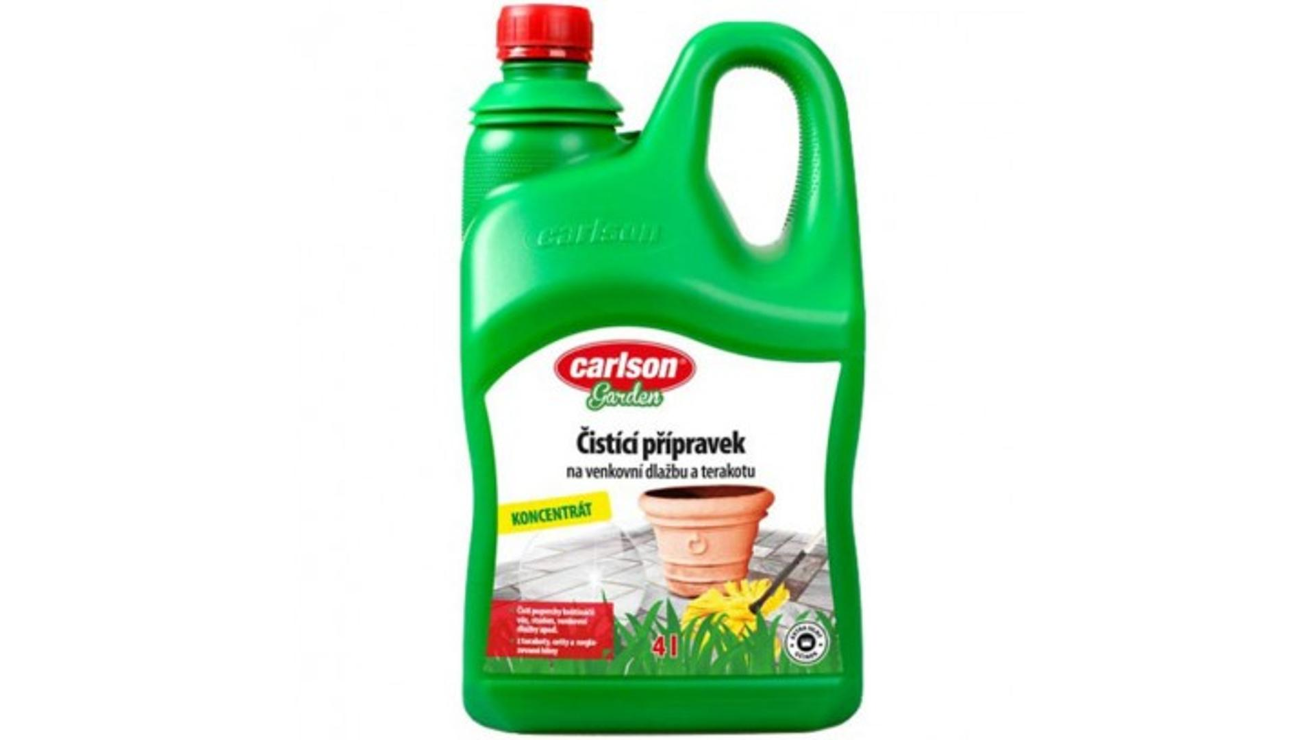 CARLSON čistící přípravek na dlažby a vnější dlažbu 4l