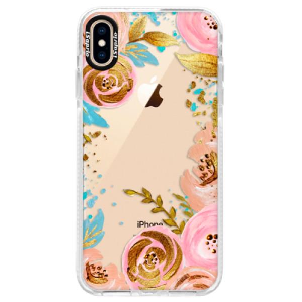 Silikonové pouzdro Bumper iSaprio - Golden Youth - iPhone XS Max