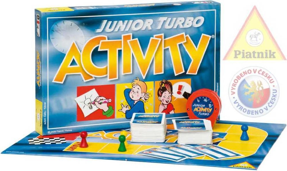 PIATNIK Hra ACTIVITY Junior turbo *SPOLEČENSKÉ HRY*