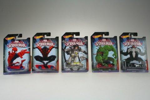 Hot Wheels Spiderman autíčko CMJ79
