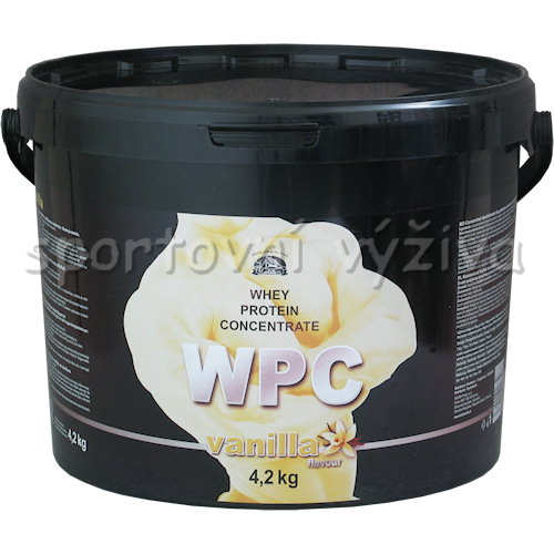 WPC Whey Protein Concentrate - 4200g-vanilka