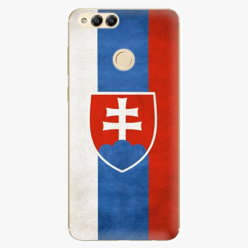 Plastový kryt iSaprio - Slovakia Flag - Huawei Honor 7X