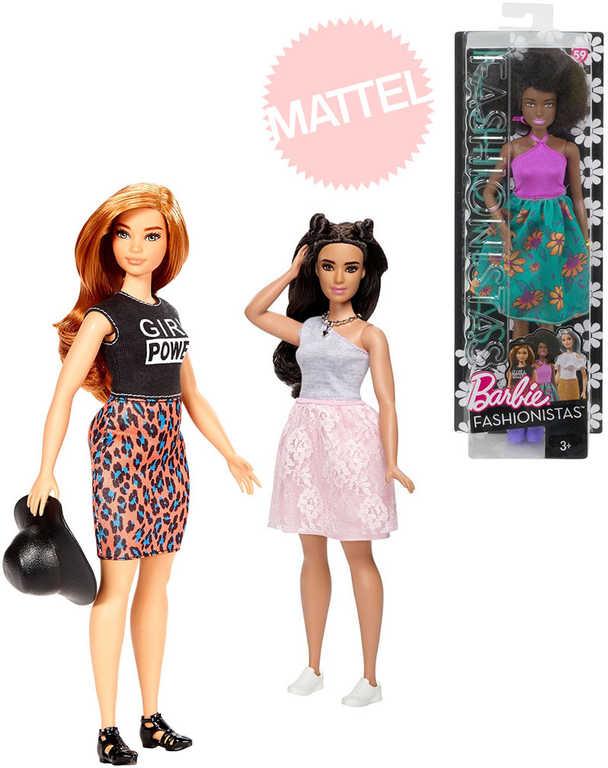 MATTEL BRB BARBIE Panenka modelka 29cm fashion obleček 5 druhů