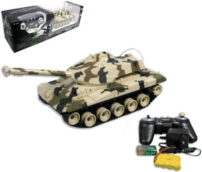 RC Tank s pásy na ovládání (vysílačku) 27 MHz