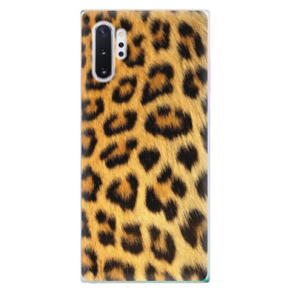 Odolné silikonové pouzdro iSaprio - Jaguar Skin - Samsung Galaxy Note 10+