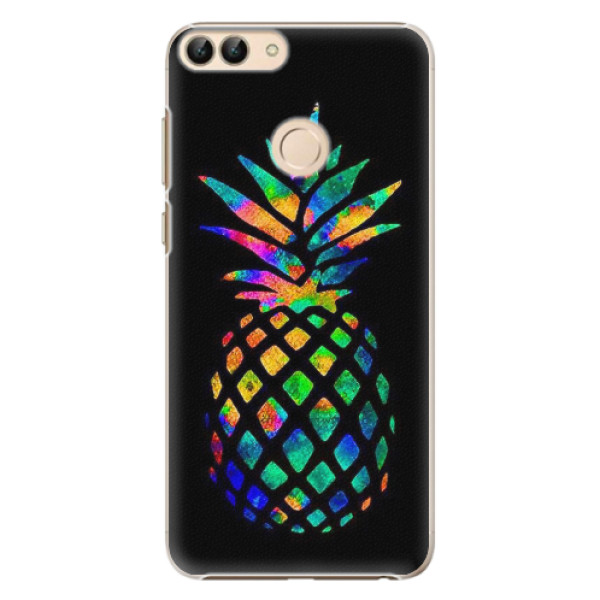 Plastové pouzdro iSaprio - Rainbow Pineapple - Huawei P Smart