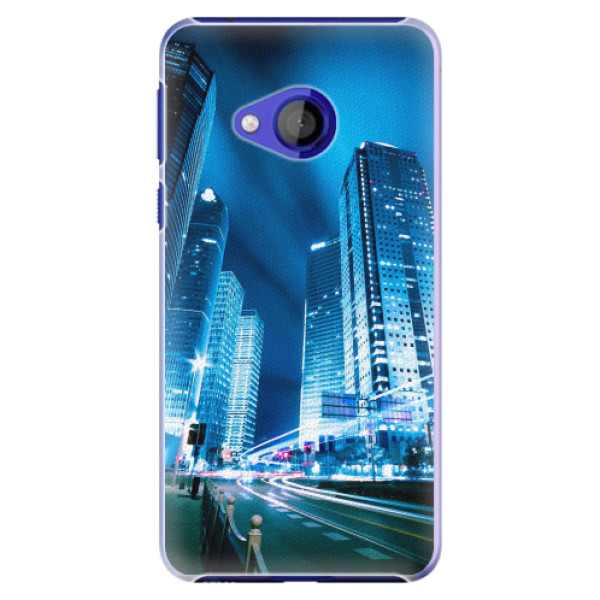 Plastové pouzdro iSaprio - Night City Blue - HTC U Play