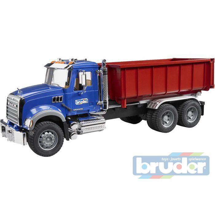 BRUDER 02822 (2822) Nákladní auto MACK Granit kontejner