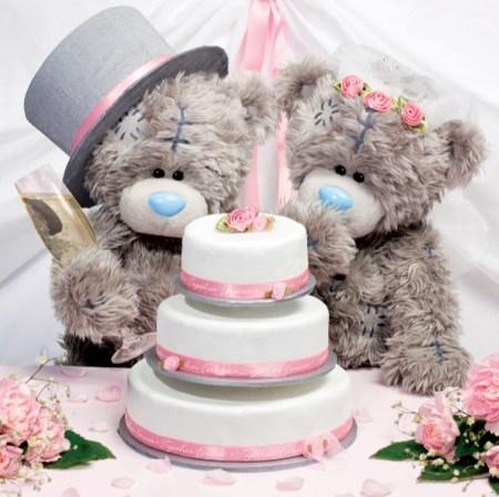 - 3D přání Me to You s dortem
