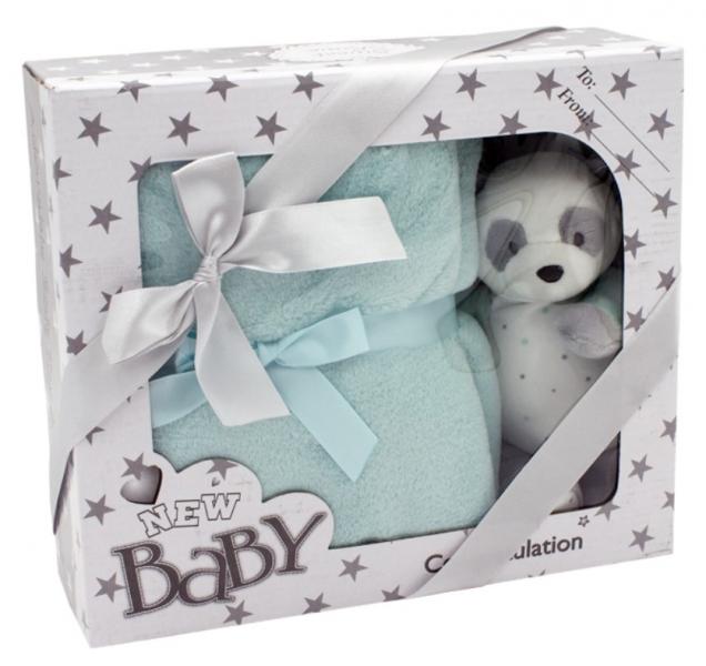 tulilo-detska-sada-deka-plysova-hracka-medvidek-panda-tyrkysova
