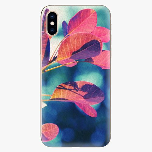 Silikonové pouzdro iSaprio - Autumn 01 - iPhone XS