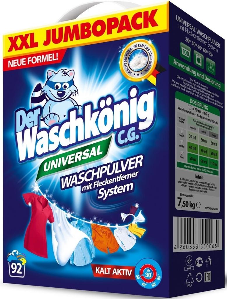 Universal prášek na praní 7,5 Kg (92 praní)
